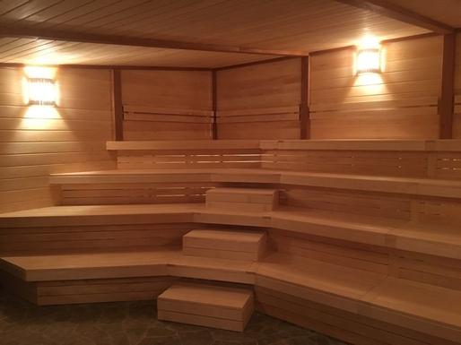 Альпийская баня в СПА комплексе