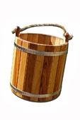 Ведро деревянное дубовое SP 12 л (нержавеющие обода)