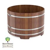 Купель круглая Bentwood из лиственницы моренной D 1,80 м