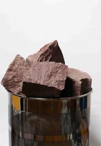 Колотый малиновый кварцит (карельский) 50х150, 10 кг