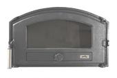 Печная дверца Pisla HTT 432 (герметичная, контроль тяги воздуха) серая