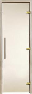 Двери для хаммама GREUS Premium прозрачная бронза 80/200