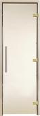 Двери для хаммама GREUS Premium матовая бронза 70/200