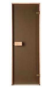 Двери Saunax бронза 70х200