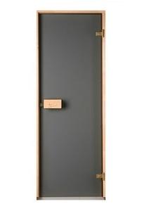 Двери для сауны Saunax матовая бронза 70х190 см