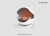 Напольный биокамин Gloss fire Sfera- m2