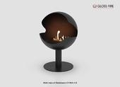 Напольный биокамин Gloss fire Sfera- m3
