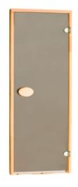 Двери матовые тонированная бронза 80х210 см