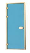 Двери стандартные тонированные синие 80х200 см