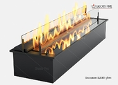 Топливный блок Gloss Fire Slider glass