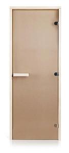 Двери для сауны Greus Classik цвет бронза 80х200
