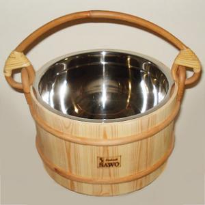 Ведро деревянное для бани Sawo 371-Р, 7 л