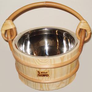 Ведро для бани Sawo 341-МР, 4 л