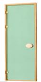 Двери стандартные тонированные зеленые 80х190 см