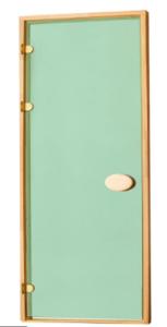 Двери стандартные тонированные зеленые 80х210 см